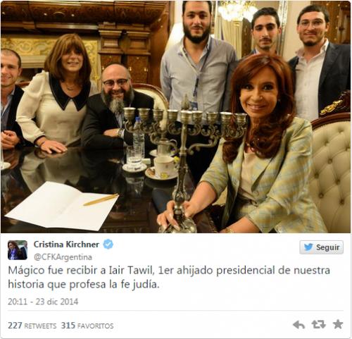 Parrainage présidentiel CFK tradition argentine.png