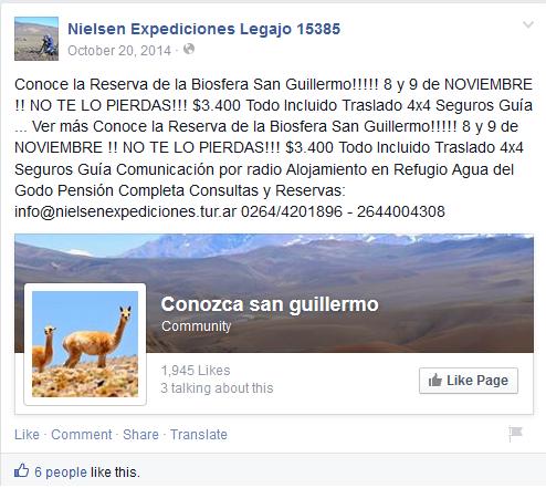 Tourisme San Guillermo Nielsen expediciones.png