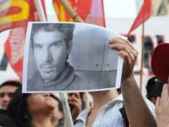 Manifestant avec photo Mariano Ferreyra.jpg