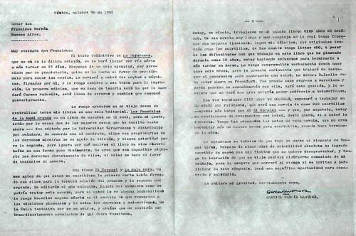 Lettre de Garcia Marquez aux éditions Sudamericana.jpg